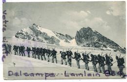 - 31 - VAL  Aoste - Militaria, Alpins Italiens Sur Le Ruitor, Cachet Courmayeur, 1910, épaisse, écrite, TBE, Scans; - Andere Städte