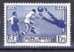 France 396 Football Neuf ** TB  MNH  Sin Charnela Cote 35 - Nuovi