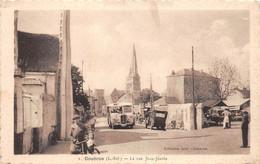 ¤¤  -   COUERON   -   La Rue Jean-Jaures  -  Bus , Car  -  Marché    -  ¤¤ - Sonstige Gemeinden