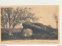 86 NEUVILLE DE POITOU PIERRE LEVEE DOLMEN CPA BON ETAT - Dolmen & Menhirs