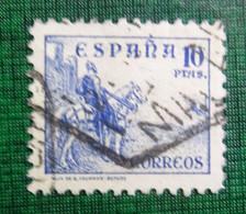 &SVE 163B& ESPAÑA SPAIN  EDIFIL 830, YVERT 589,  MICHEL 780I  USED. - 1931-50 Usados