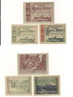 3 Notgeldscheine Mariazell 10, 20 + 50 H - Austria