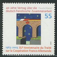 2311I Deutsch-französiche Zusammenarbeit Mit Rastertype I,  ** - Unclassified