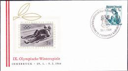 Österreich Austria Autriche - Stempel Zur 61. IOC-Session Vom  28.1.64 - Machine Stamps (ATM)