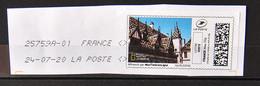FRANCE. Mon Timbre En Ligne - Lettre Verte - Hôtel Dieu De Beaunes - 2010-... Illustrated Franking Labels