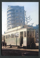 """Carte-photo Moderne """"Tramway De Saint Etienne (CFVE) Ligne Terrasse-Bellevue - Années 50"""" - Tram"""