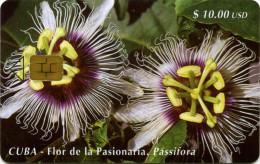 CUBA 86 Flor De La Pasionaria 30.000ex - Cuba