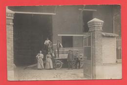 94 - Vincennes - Carte Photo Marchand De Grains Et Son Attelage Au 2 Rue De La Bienfaisance - Vincennes