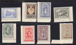 Grece 1947 Yvert 553 / 557 ** Et 59 / 561 ** Neufs Sans Charniere Retour Des Iles Du Dodecanese. - Nuovi