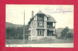 C.P. Sougné  (  Sougnez )  = Villa De Mr.  LECOQ - Aywaille