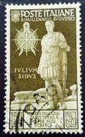 Italie Italy Italia 1937 Auguste Augusteo Yvert 400 O Used Usato - Gebraucht