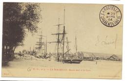 4- LA ROCHELLE - Bassin Neuf Et La Gare - La Rochelle