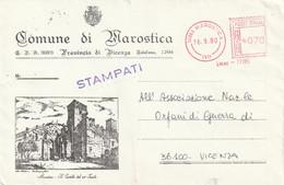 Italia - E.M.A. - Comune Di Marostica (VI) - - Affrancature Meccaniche Rosse (EMA)