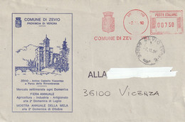 Italia - E.M.A. - Comune Di Zevio (VR) - - Affrancature Meccaniche Rosse (EMA)