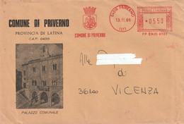 Italia - E.M.A. - Comune Di Priverno (LT) - - Affrancature Meccaniche Rosse (EMA)