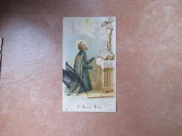 S.CAMILLO LELLIS Teschio Altare Al Verso ORAZIONE - Devotieprenten