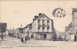 1076/ Torigni Sur Vire, Rue Thiers Et Rue Robert Dumont - Sonstige Gemeinden