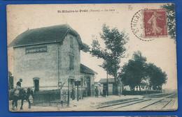 SAINT-HILAIRE-le-PETIT    La Gare   Animées - Otros Municipios