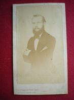 PHOTO CDV - Portrait D'homme, Photo (19em)  H.Grandmaison à Liège (Belgique). - Anonieme Personen