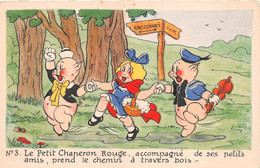 ¤¤  -  Illustrateur    -  WALT DISNEY   -  Le Petit Chaperon Rouge   -  Petits Cochons     -  ¤¤ - Other