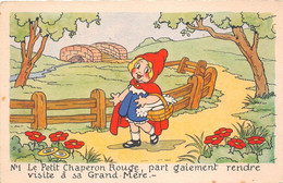 ¤¤  -  Illustrateur    -  WALT DISNEY   -  Le Petit Chaperon Rouge      -  ¤¤ - Other