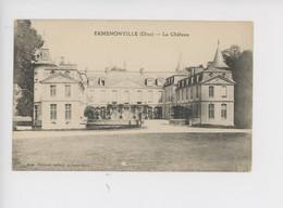 Ermenonville - Le Château (cp Vierge) - Ermenonville