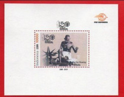 Indonesia Persinalizes Stapm SS- 50 Years Of Celebrating Mahatma Gandhi, With Cover - Indonesia