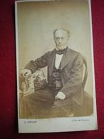 PHOTO CDV - Portrait D'homme , Photo (19em) G.Antony à Liège (Belgique). - Anonieme Personen