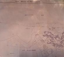(13) Les Baux-de-Provence - Cadastre 1963 - Architecture
