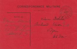 13411  TRÉSOR Et POSTES *51* - CARTE ROUGE - 17 AVRIL 15 - Oorlog 1914-18
