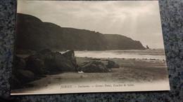 CPA -  JERSEY  - Sunbeams  - Gromez Point Coucher De Soleil - United Kingdom