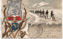 3° REGGIMENTO ALPINI - VIAGGIATA - Regimenten