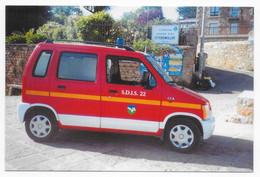 Nos Sapeurs-Pompiers - 4 X 4 VSAB Suzuki Wagon R - Ile De Bréhat (Côtes-d'Armor) - Firemen