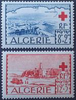 R2062/138 - 1952 - COLONIES FR. - ALGERIE - CROIX ROUGE - N°300 à 301 NEUFS* - Ongebruikt