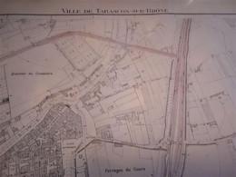 (13) Tarascon-  Cadastre 1945 (2) - Architecture