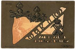 MAK  P 10 - 27 MARZO 1904 - REGIA ACCADEMIA MILITARE - VIAGGIATA - Regimenten