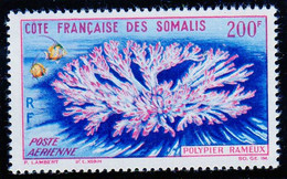 Cote Des Somalis Poste Aerienne 1963 Faune Coraillienne YT 36 Neuf** - Nuovi