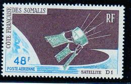 Cote Des Somalis Poste Aerienne 1966 Satelitte D1 YT 48 Neuf** - Nuovi