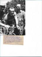 CYCLISME - Photo De 1952 De Jean ROBIC - Vainqueur De La 14e étape Du Tour De France Aix - Avignon - Ciclismo