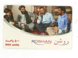Roshan Telecom Afghanistan 500 Units - Afghanistan