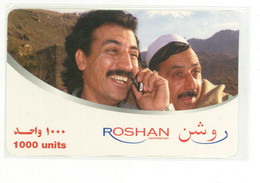 Roshan Telecom Afghanistan 1000 Units - Afghanistan