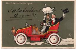 ROME 24 - 28 AVRIL 1904 - VIAGGIATA - Personen