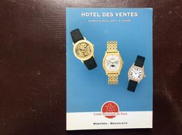 CATALOGUE CRÉDIT MUNICIPAL DE PARIS Ventes Aux Enchères MONTRES-BRACELETS Rolex Hermès Boucheron Baume & Mercier Chanel - Orologi Antichi