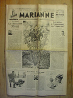 MARIANNE DU 2 AOUT 1939 - ALBANIE THARAUD - CHAT - ALFRED DE VIGNY - CHARLES TRENET - TOUR DE FRANCE - AMBROISE VOLLARD - Giornali