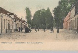 30 09 60//    BEVEREN WAES  VIERGEMEET EN BAAN VAN ANTWERPEN  1908 - België