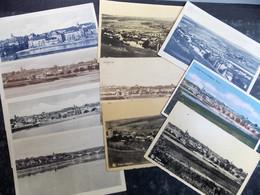 Liquidation!!! LUXEMBOURG Cartes Postales LOT 38/46 REMICH Panorama : 10 Cartes - CACHETS Intéressants - Remich