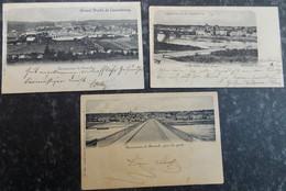 Liquidation!!! LUXEMBOURG Cartes Postales LOT 40/46 REMICH Charles Bernhoeft : 3 Cartes - CACHETS Intéressants - Remich