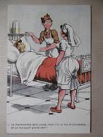 """Militaria Humour - Soldat Et Infirmière """"... Thermomètre Baromètre  ..."""" - Humour"""