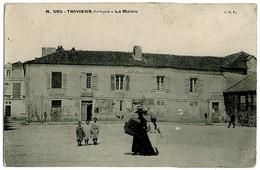 24 - B6443CPA - THIVIERS - La Mairie - Bon état - DORDOGNE - Thiviers