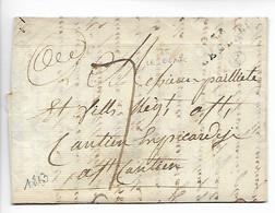 LE BLANC Indre Marque Noire 35 LE BLANC Faible 1813    .....HH - 1801-1848: Precursores XIX